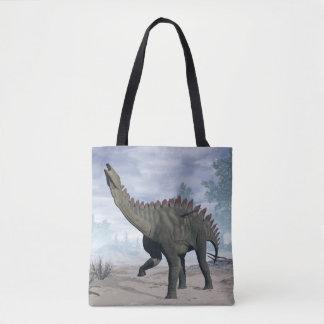 Dinossauro de Miragaia - 3D rendem Bolsas Tote