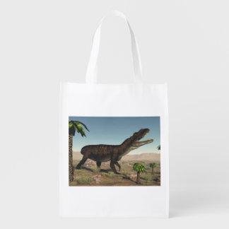 Dinossauro de Prestosuchus - 3D rendem Sacola Ecológica Para Supermercado