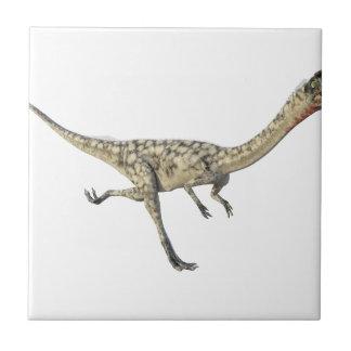 Dinossauro do Coelophysis no perfil