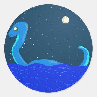 dinossauro do mar adesivo