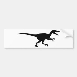 Dinossauro do Velociraptor Adesivo Para Carro