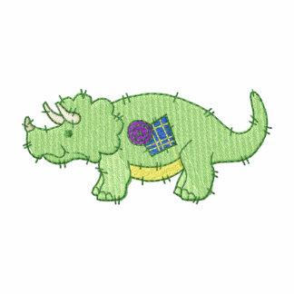 Dinossauro Moletom Com Capuz Sherpa Bordado