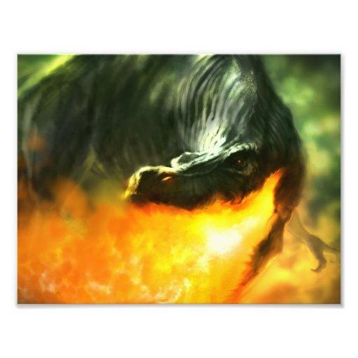 Dinossauro ou dragão deRespiração por Michael Mahe Fotografia
