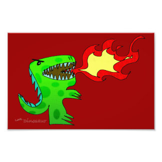 Dinossauro ou dragão por Jessica Jimerson - 2 Fotografias