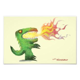 Dinossauro ou dragão por poucos t e Abdul Rasheed Foto