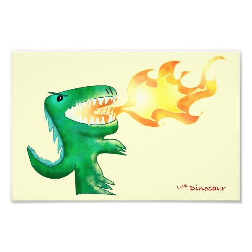 Dinossauro ou dragão por poucos t e Andrew Harmon Impressão De Fotos