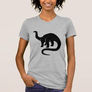Dinossauro - preto t-shirt