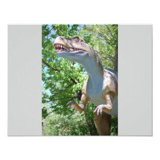 Dinossauro T-Rex Convite Personalizados
