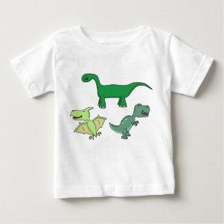 Dinossauros Camiseta Para Bebê
