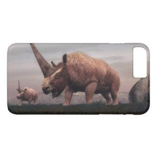 Dinossauros do mamífero de Elasmotherium - 3D Capa iPhone 7 Plus
