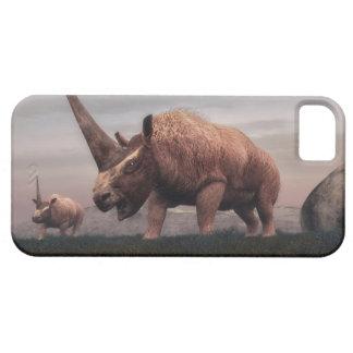 Dinossauros do mamífero de Elasmotherium - 3D Capas Para iPhone 5