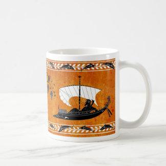 Dionysus e a caneca do estilo dos piratas