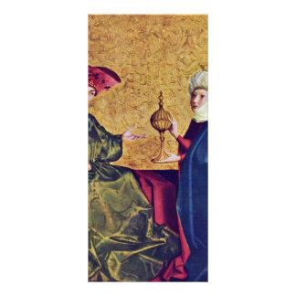 Direita da cena do altar do salvação de Spiegel de Panfletos Informativos