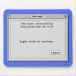 Direito - clique para instalar o Mac Mousepad