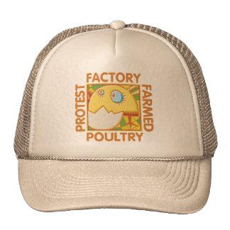 Direitos dos animais da fazenda da fábrica boné