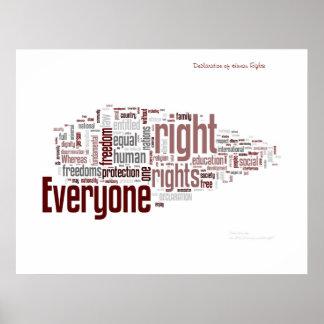 Direitos humanos posters