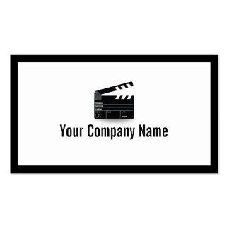 Diretor corajoso cartão de visita de Clapperboard