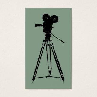 Diretor da cineasta cartão de visitas