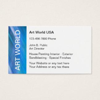 Diretor de arte cartões de visitas