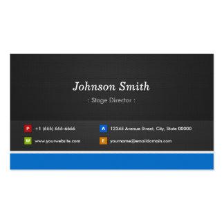 Diretor de palco - customizável profissional cartões de visitas
