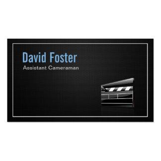 Diretor do operador cinematográfico assistente do  cartões de visitas