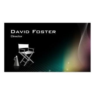 Diretor na produção teatral da televisão do filme cartões de visita