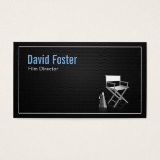 Diretor na produção teatral da televisão do filme cartão de visitas