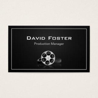 Diretor Produtor Cortador do gerente de produção Cartão De Visitas