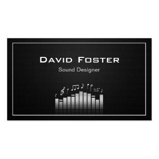 Diretor sadio audio do desenhista da tevê do filme cartão de visita