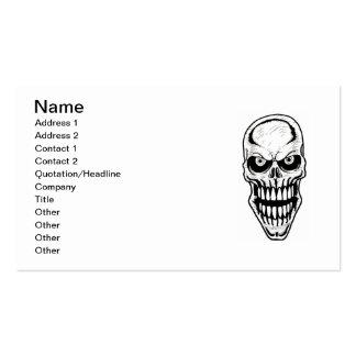 Diretores fúnebres cartões de visitas customizávei
