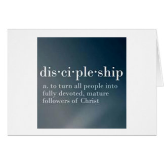 Discipulado Cartões