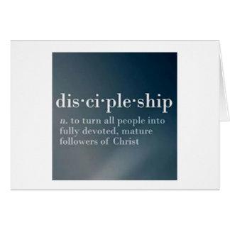 Discipulado Cartão