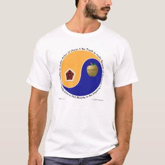 Discordian camisas (brancas/naturais) de Chao