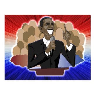 Discurso de Obama Cartão Postal