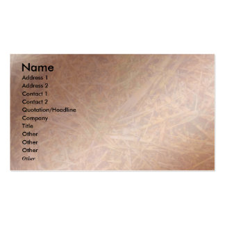 Disjuntor de cobre Visio do feno Cartão De Visita