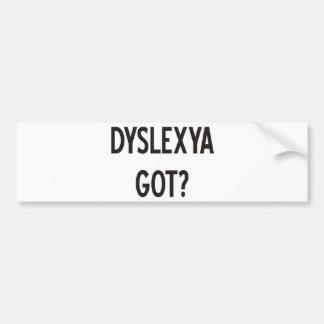 Dislexia obtida? Produtos & design! Adesivo Para Carro