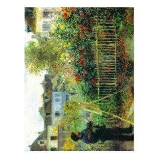 Disponível não mais de alta resolução. Renoir-Mone Cartão Postal
