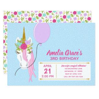 Disposição #1 do convite do aniversário do