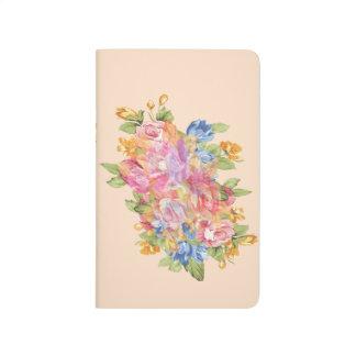 Disposição de flores com placa conhecida diário