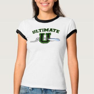 Disposição verde 2 de UltimateU tomada partido T-shirts