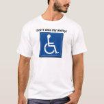 diss minha capacidade camiseta
