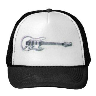 distorção pesada do esboço da guitarra boné