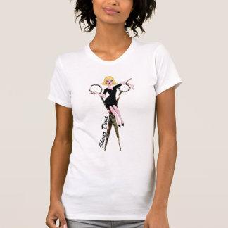 DIVA da tesoura - t-shirt do salão de beleza