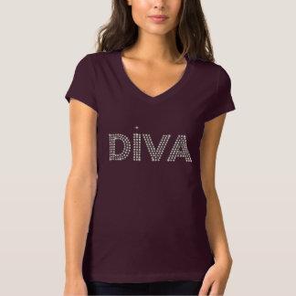 Diva Diamons Sparkling T-shirts