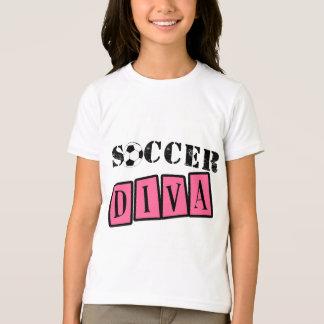 Diva do futebol camiseta