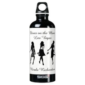 Divas no movimento - garrafa de água