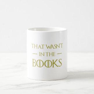 Divertido que não estava nos livros obtidos caneca de café