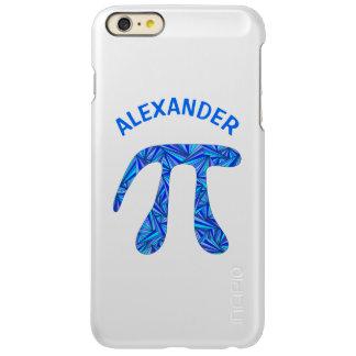 Divertimento azul do nerd da ciência do geek da capa incipio feather® shine para iPhone 6 plus