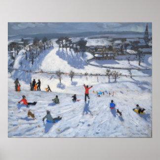 Divertimento Chatsworth 2010 do inverno Poster