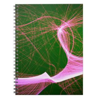 divertimento cor-de-rosa spunky cadernos espiral
